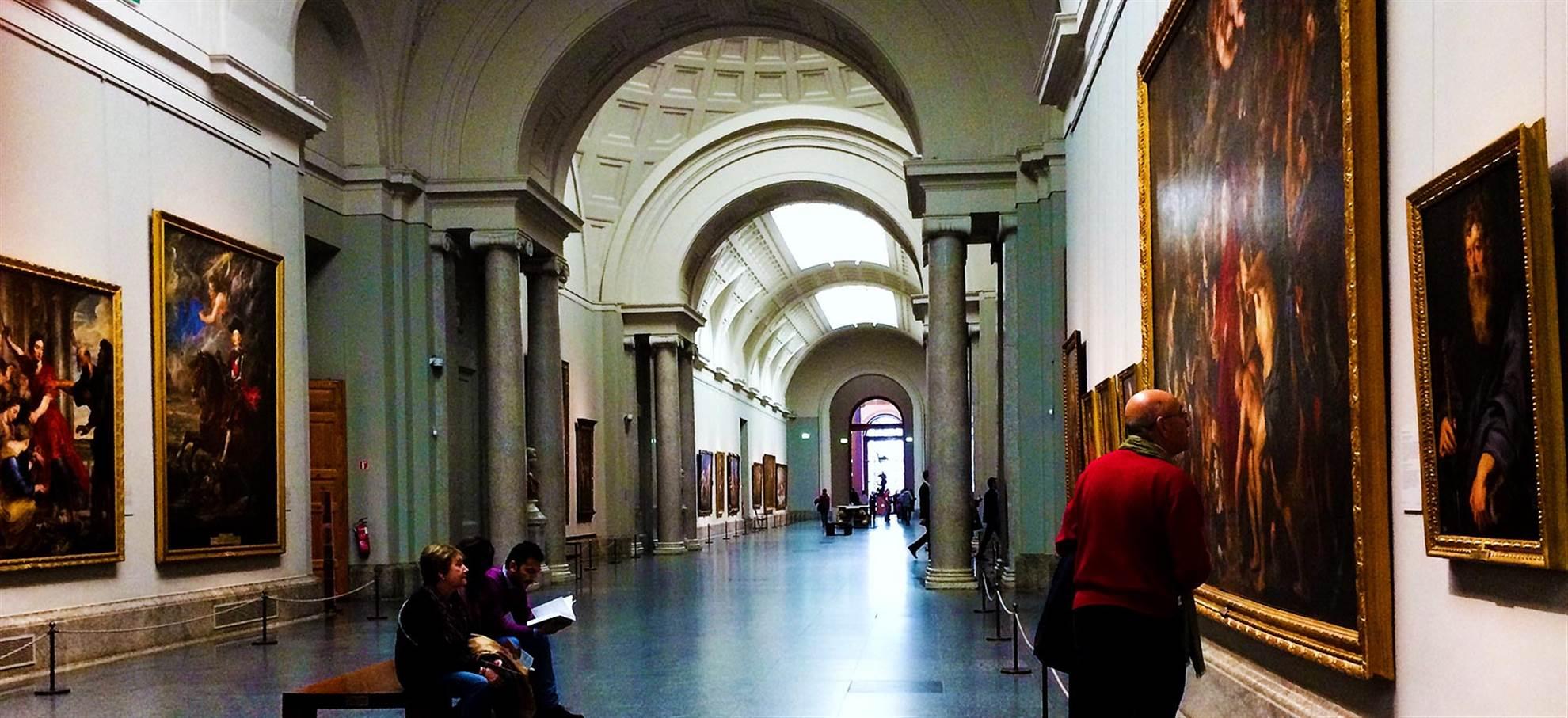 Madrid Paseo del Arte