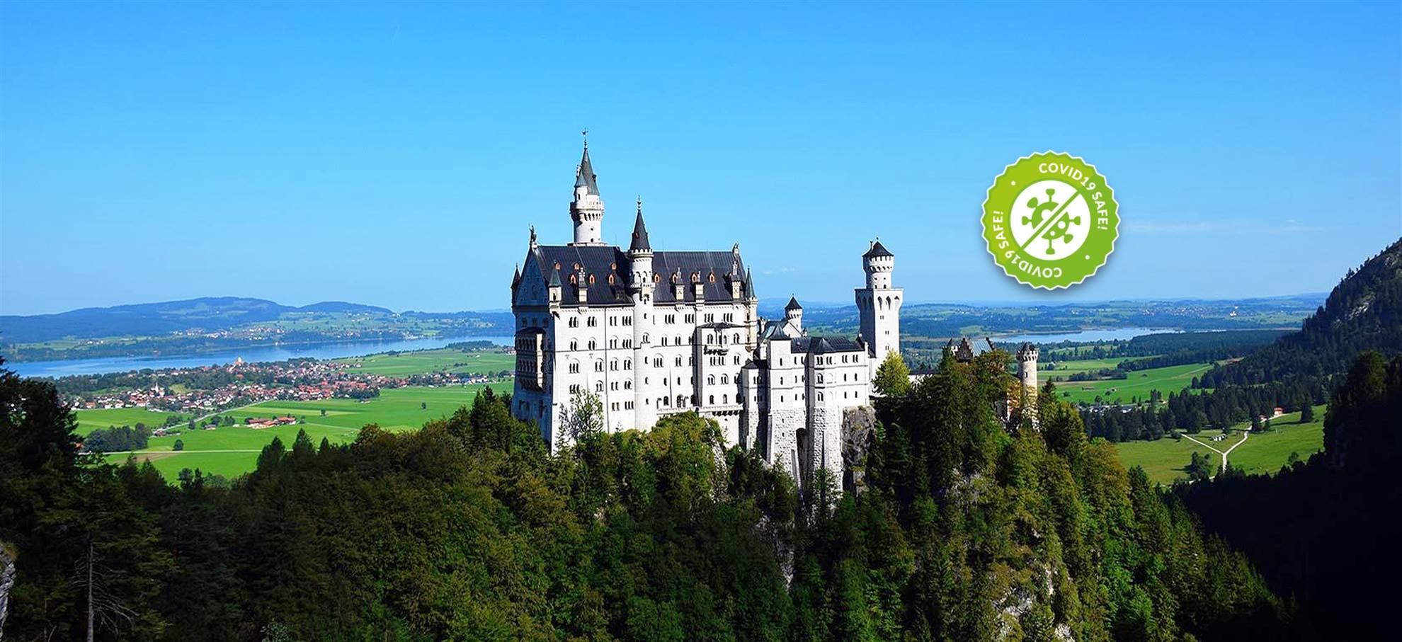 Château de Neuschwanstein - (De l'après-midi)