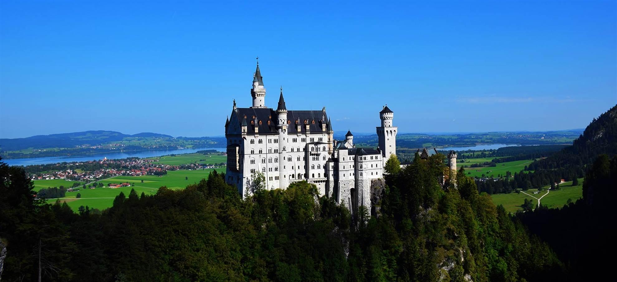 Wycieczka po zamku Neuschwanstein ( Polski przewodnik audio)