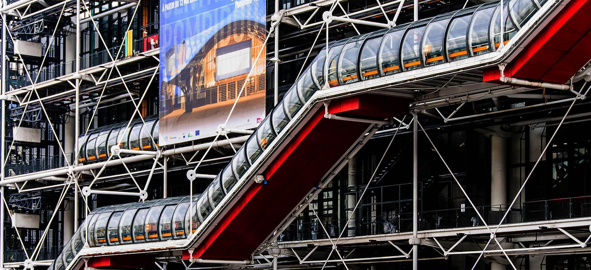 Centro Pompidou - Museu e Exposições