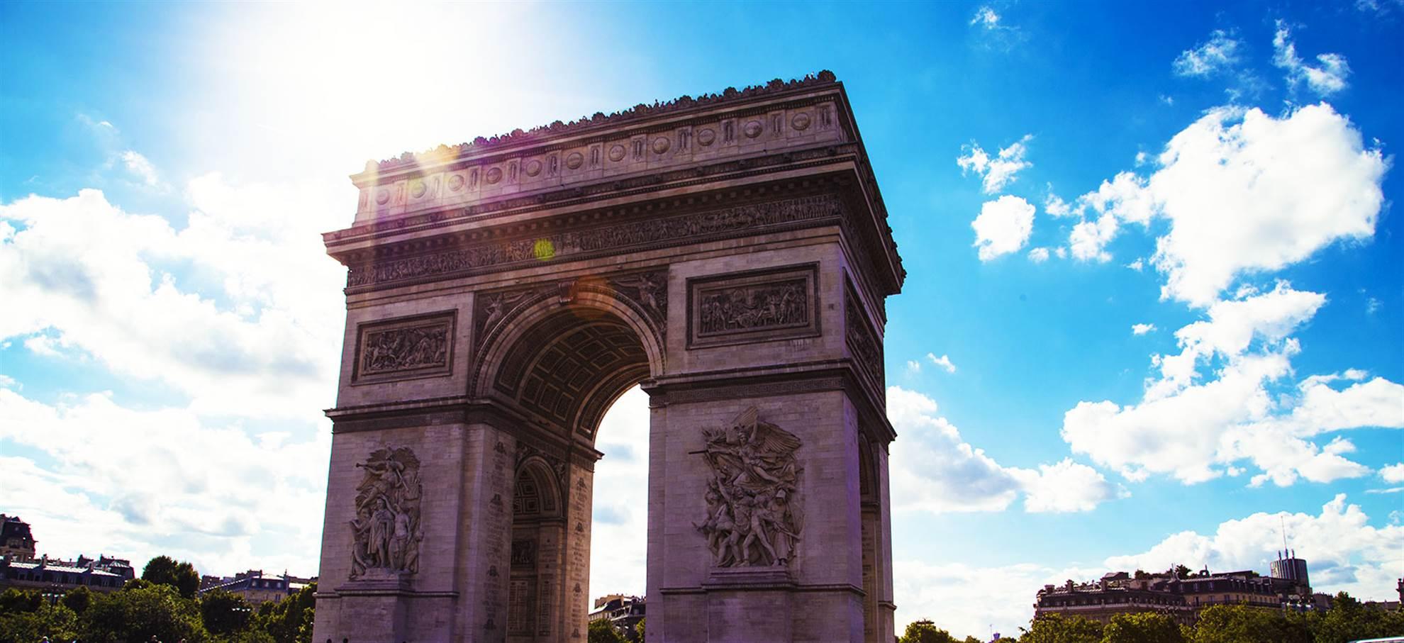 Триумфальная Арка (Arc de Triomphe)