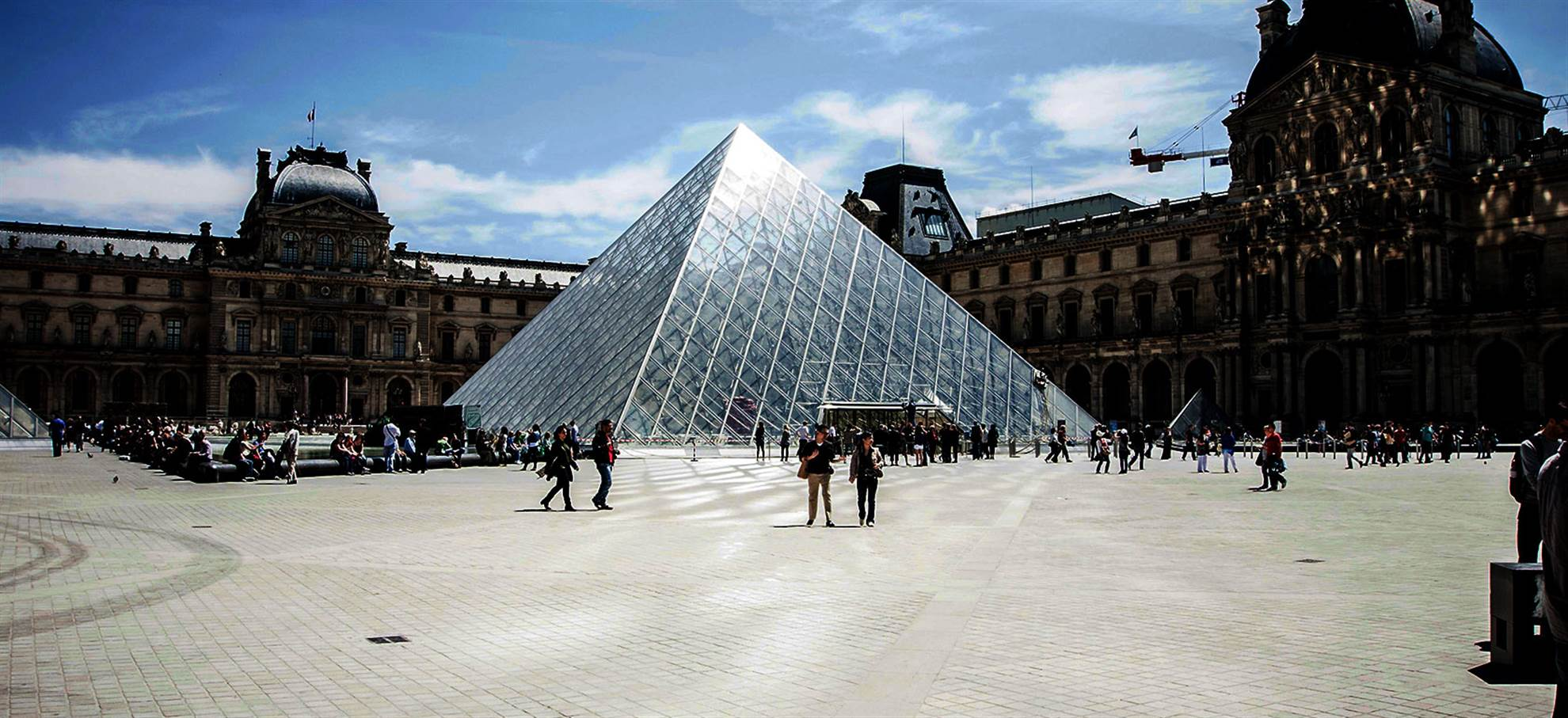 Audio guided visit of the Louvre Museum