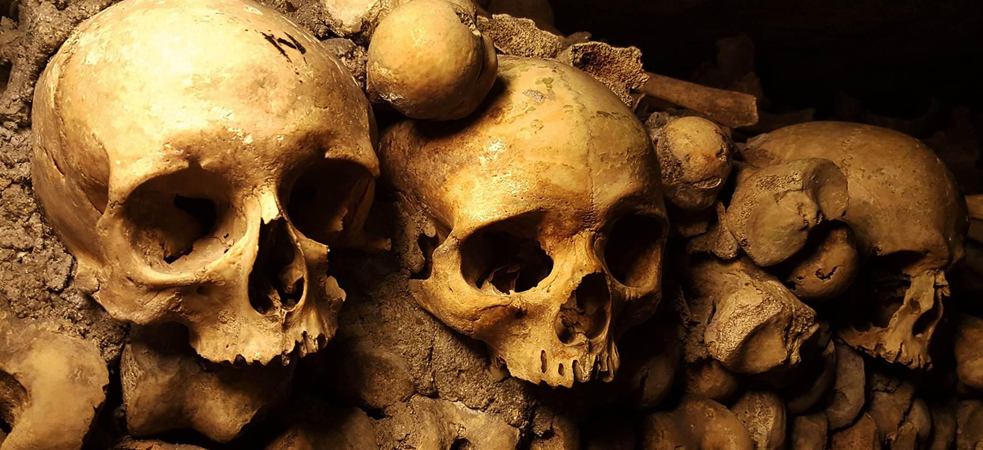 Catacombes de Paris - Entrée coupe-file+ audio-guidée