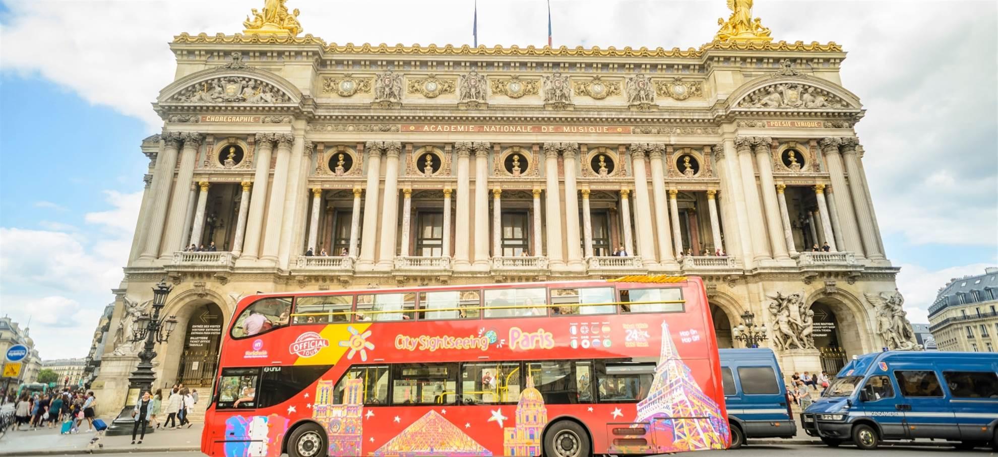 Paris Hop on Hop off Bus