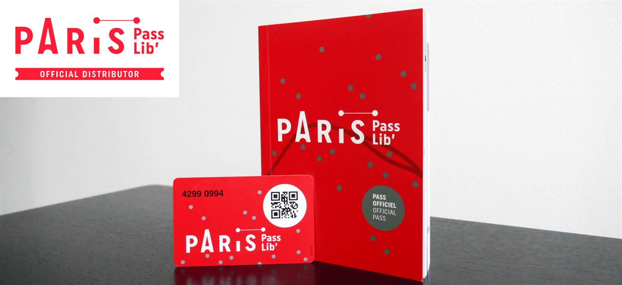 Paris PassLib' (+ optional Eiffel Tower)