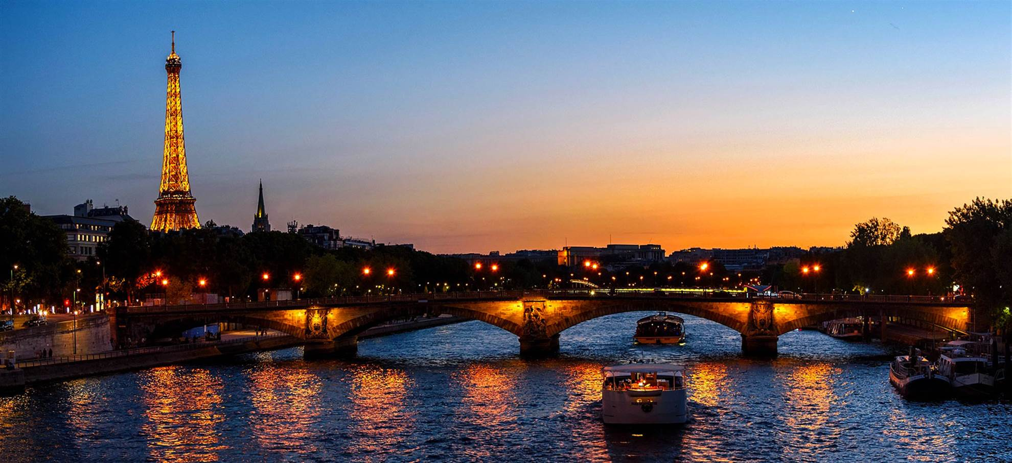 Seine Kreuzfahrt (vom Eiffelturm)