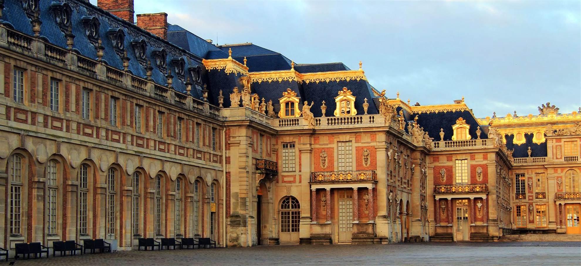 Versailles med buss