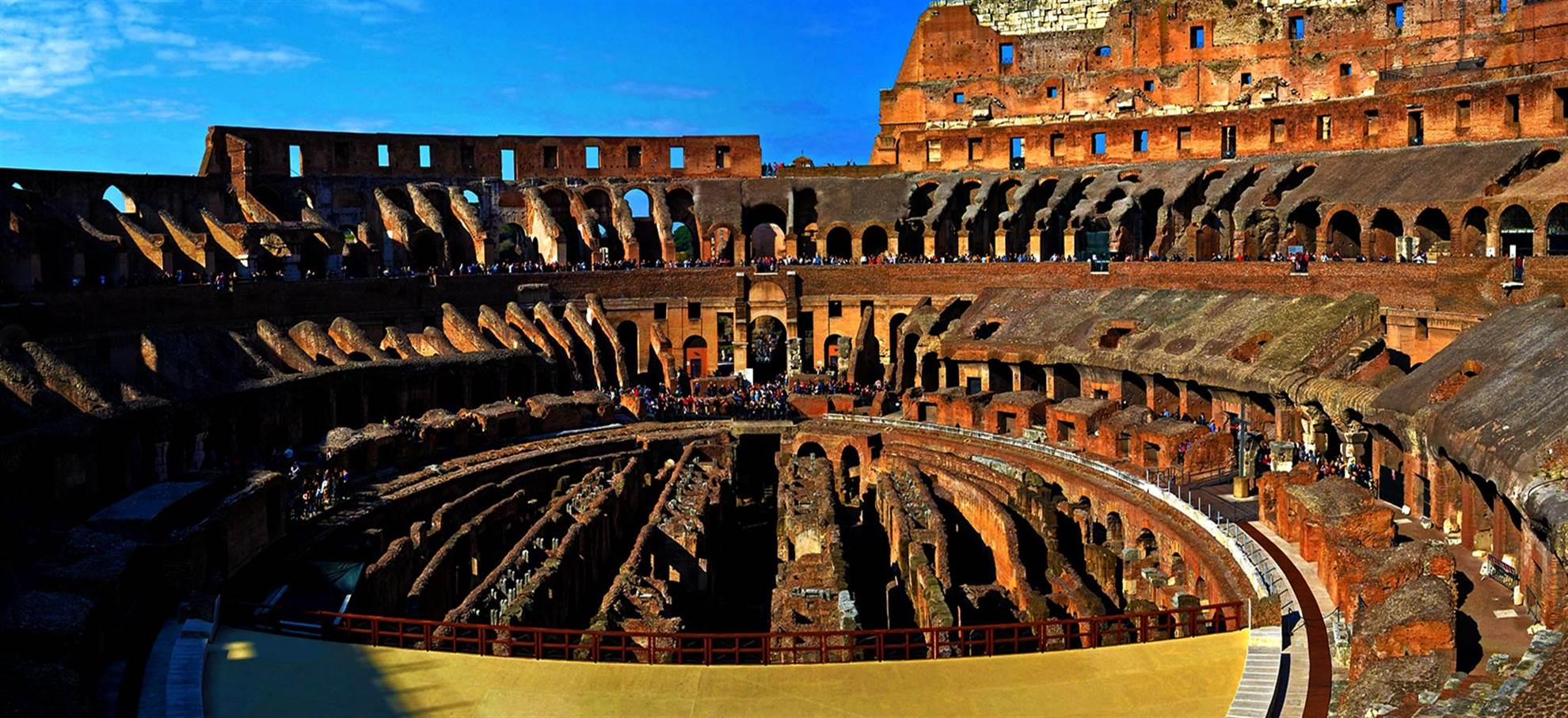 Colosseum + Belvedere Panoramautsikt (Engelsk turné)