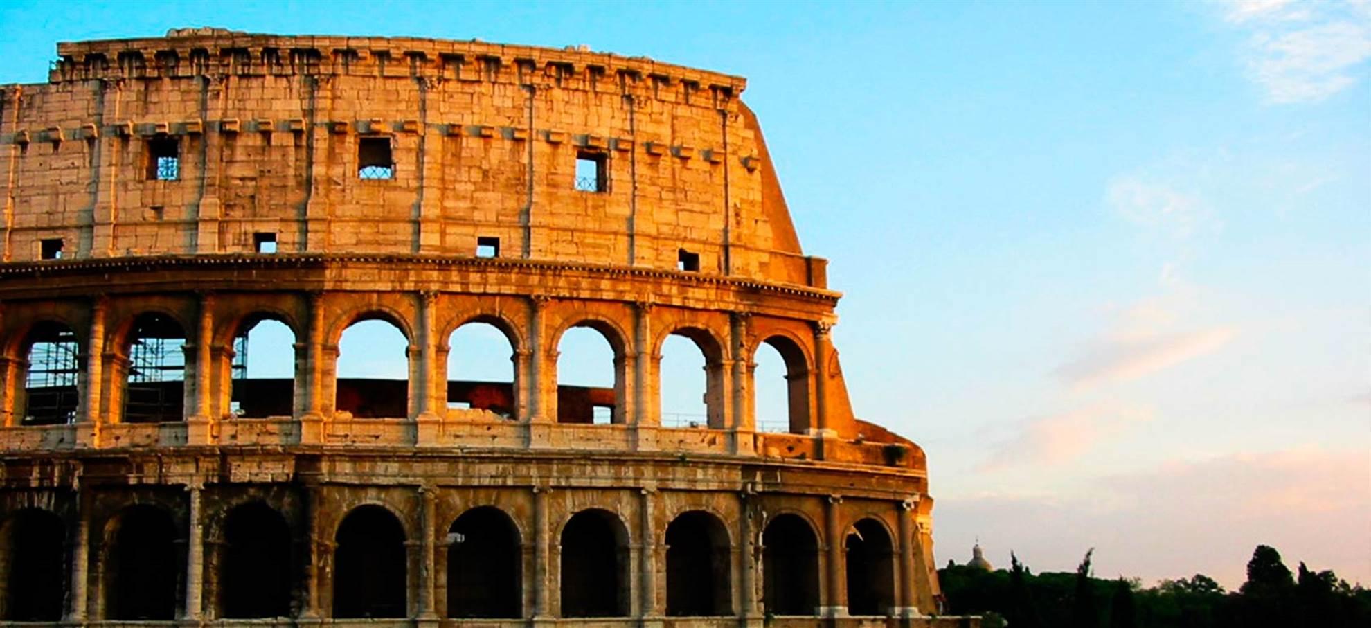 Colisée, Forum Roman, et le Mont Palatin + Guide