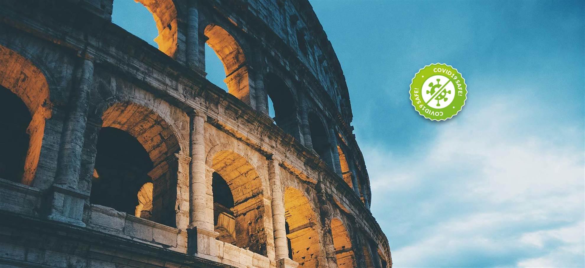 Acceso rápido al Coliseo con vídeo guía incluida