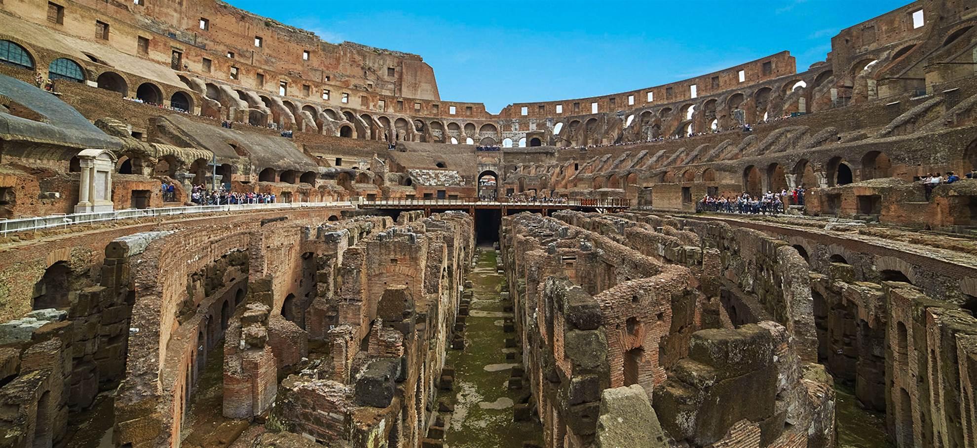 Colosseum Skip the Line! Tour in het Engels