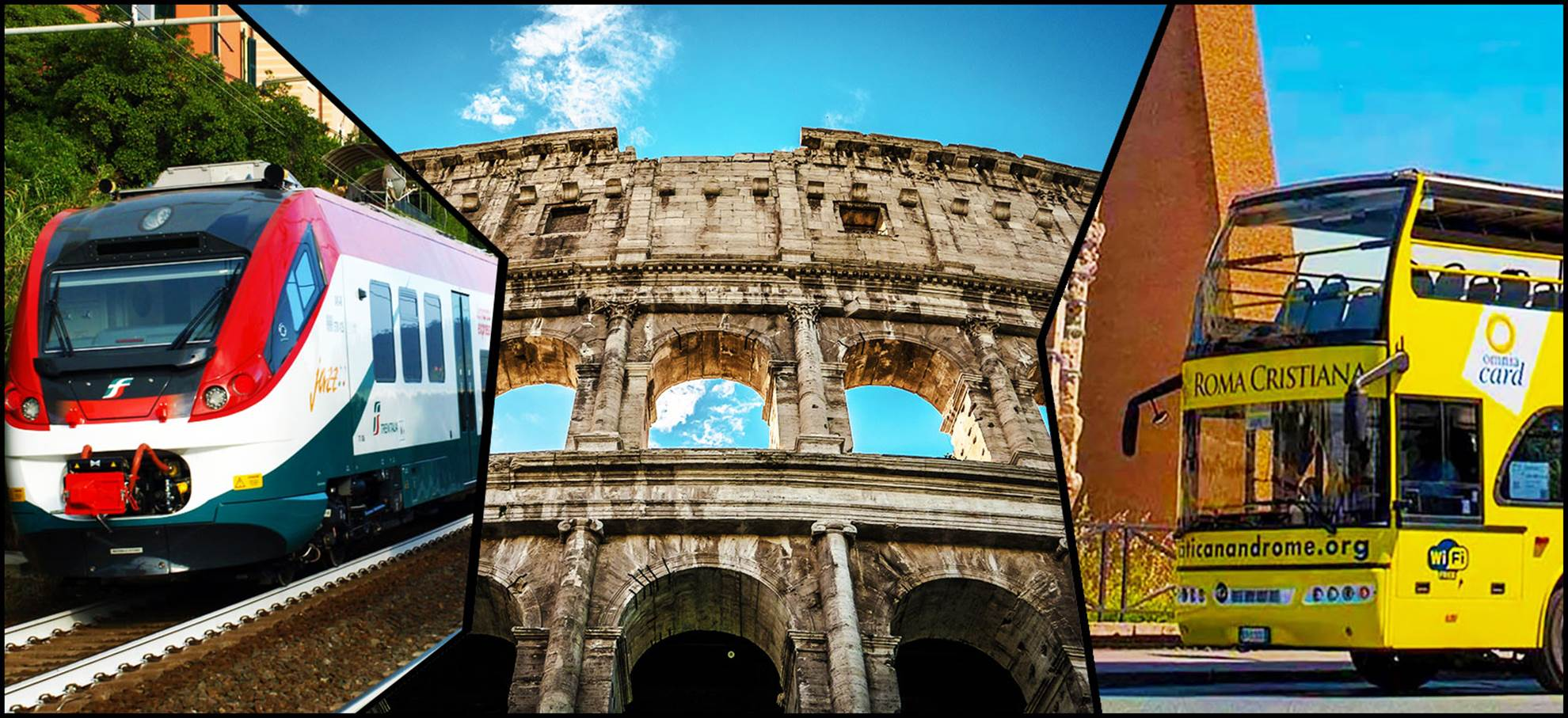 Leonardo Express Super Combi! (Incl. Colosseum)