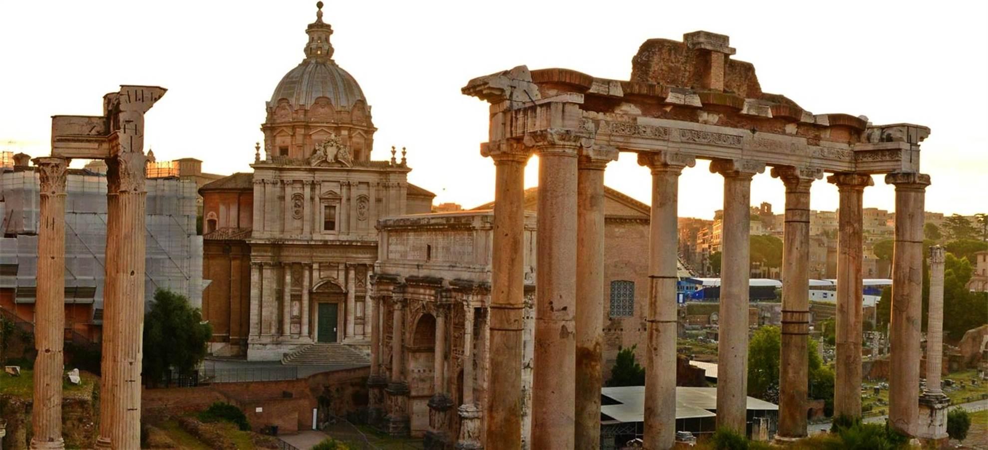 Cena y crucero Roma
