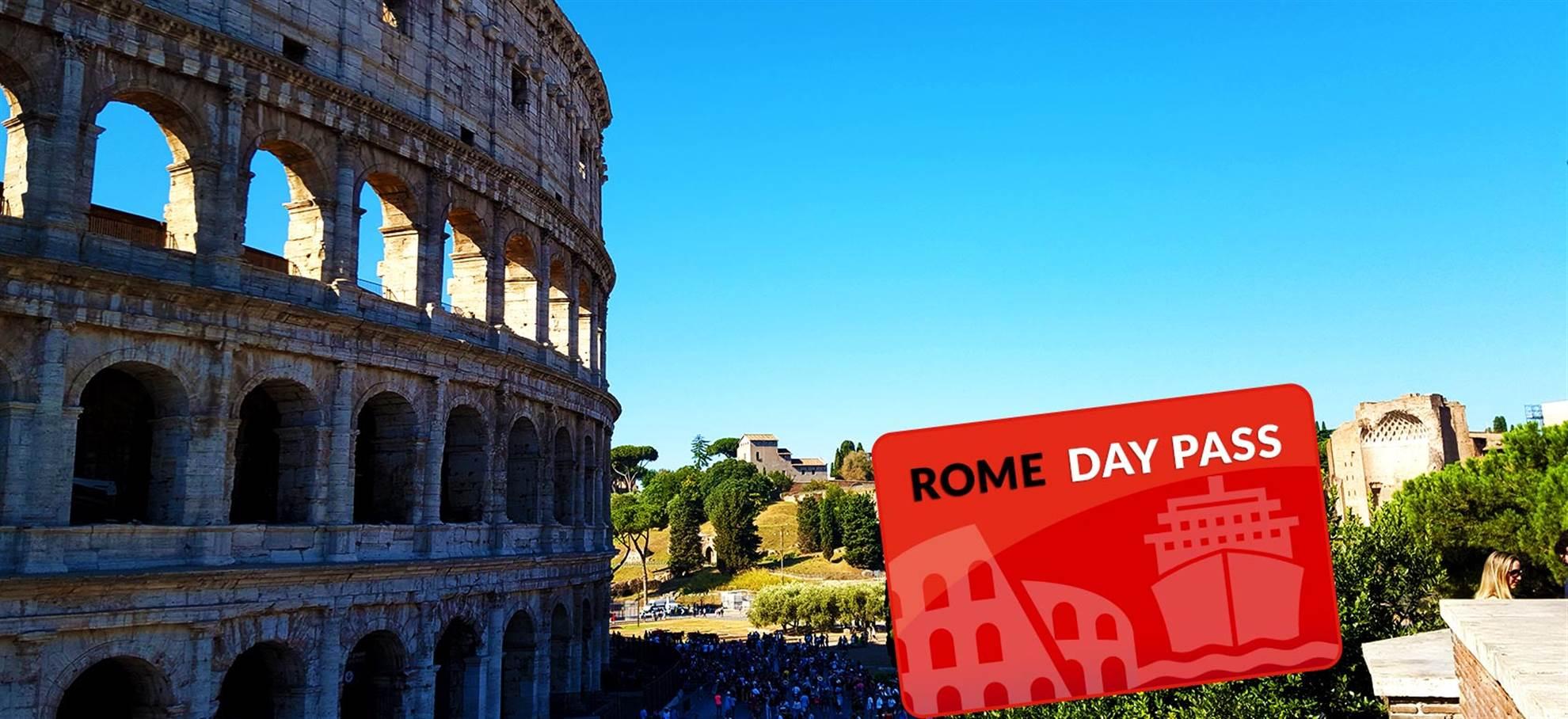 Дневной туристический пропуск в Рим (Rome Day Pass) с Чивитавеккья (Римский порт)