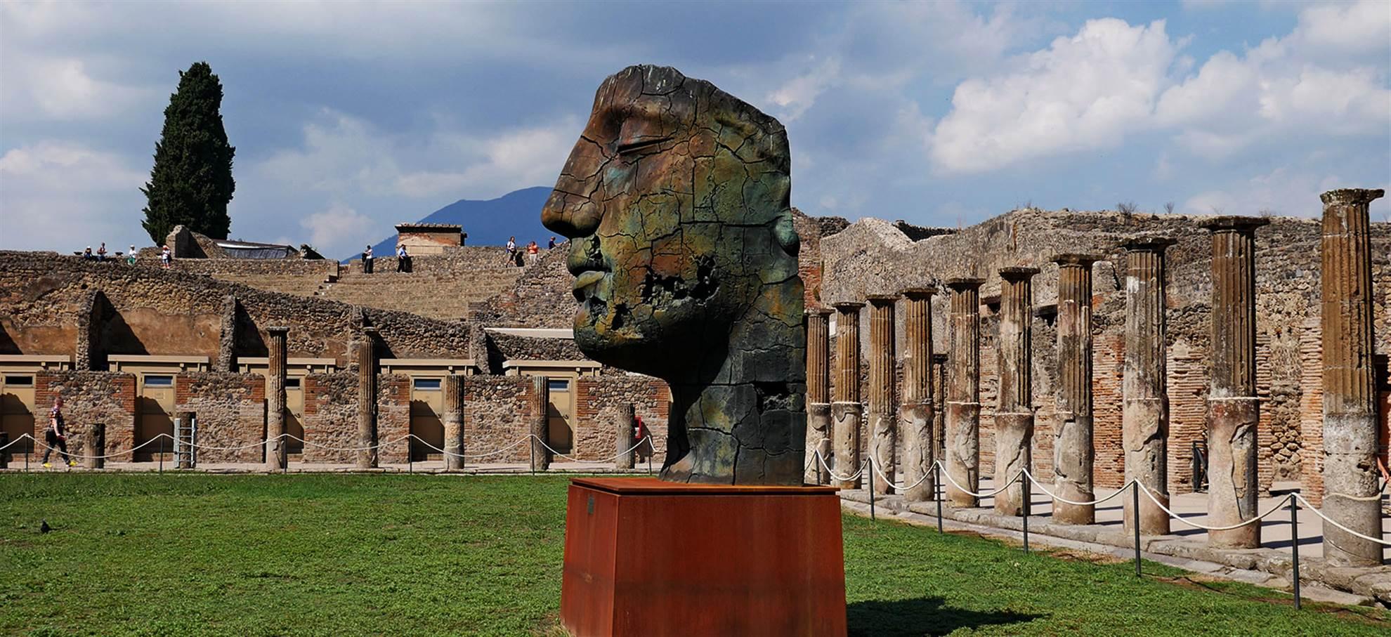 Pompeji und die Ruinen (Code T13 FD)