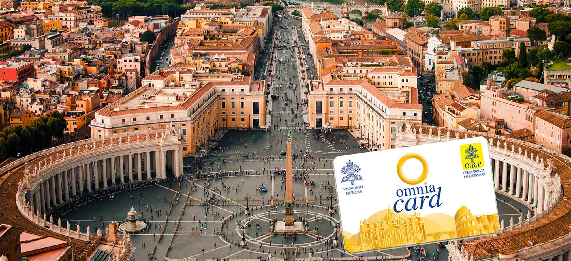 Omnia kaart voor Rome & Vaticaanstad
