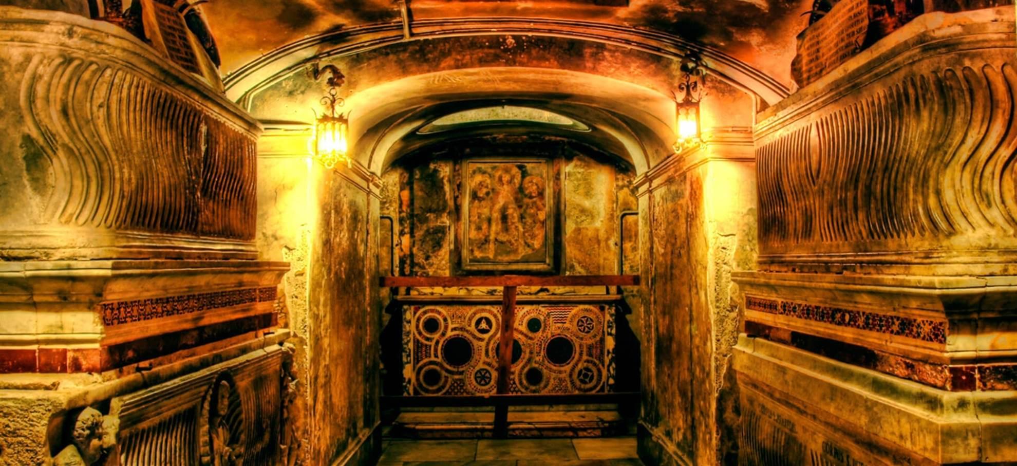 La nécropole du Vatican - Visite guidée en français!