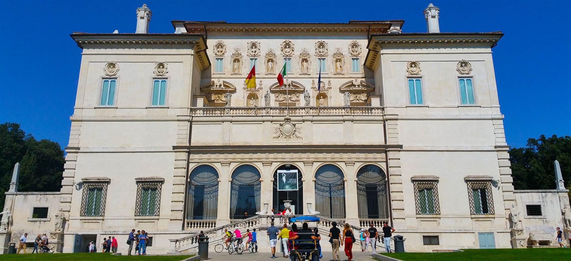 Galleria Borghese - Ontloop de wachtrij!