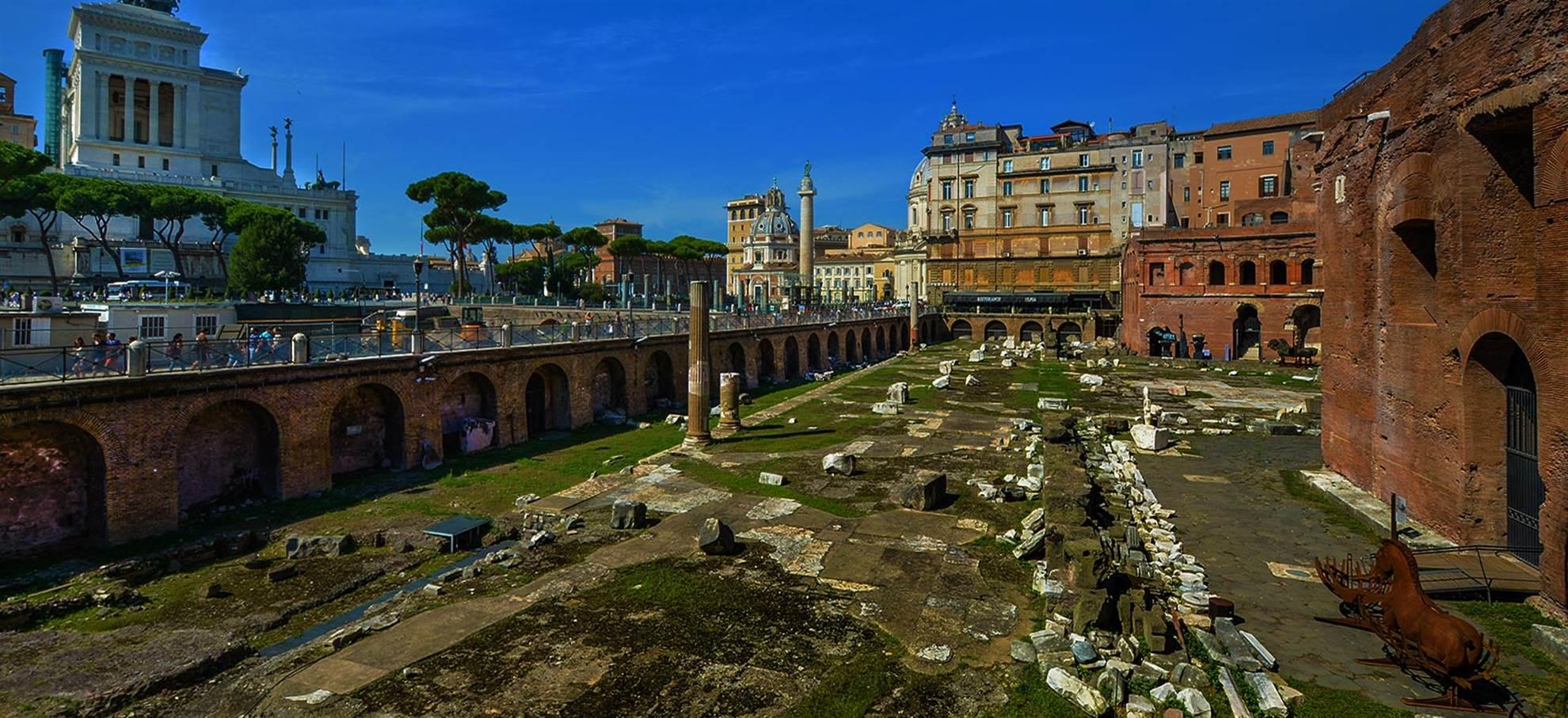 Forum van Cesar en Augustus