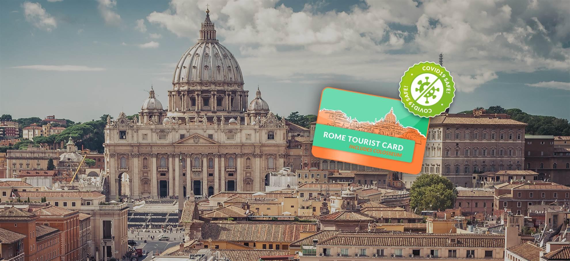 Carta Turistica di Roma