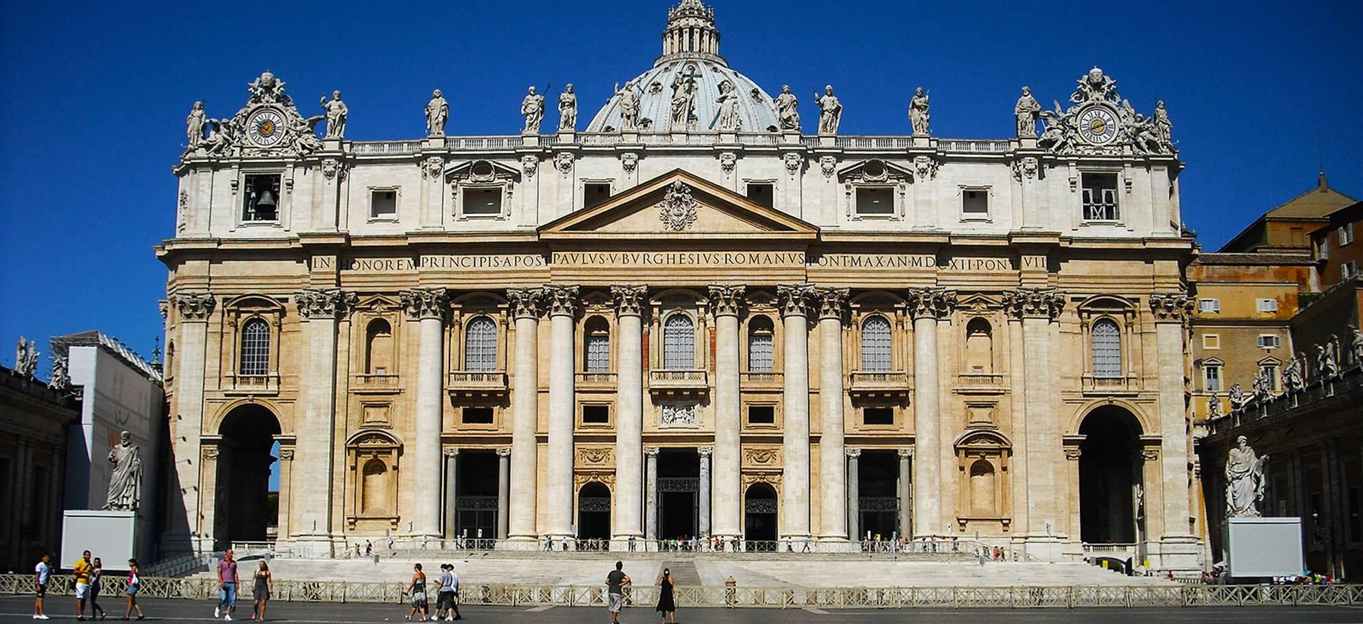 St. Pieter's Basilica - Rondleiding