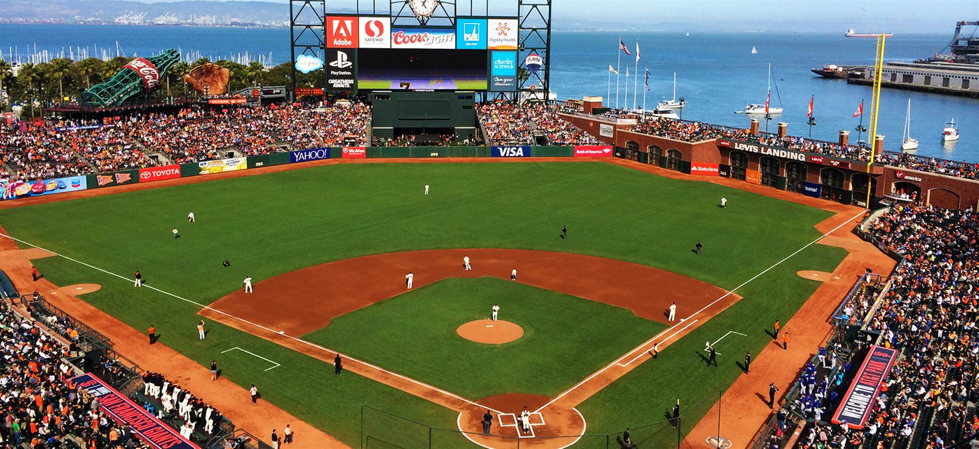 Giants Baseball Stadium Tour