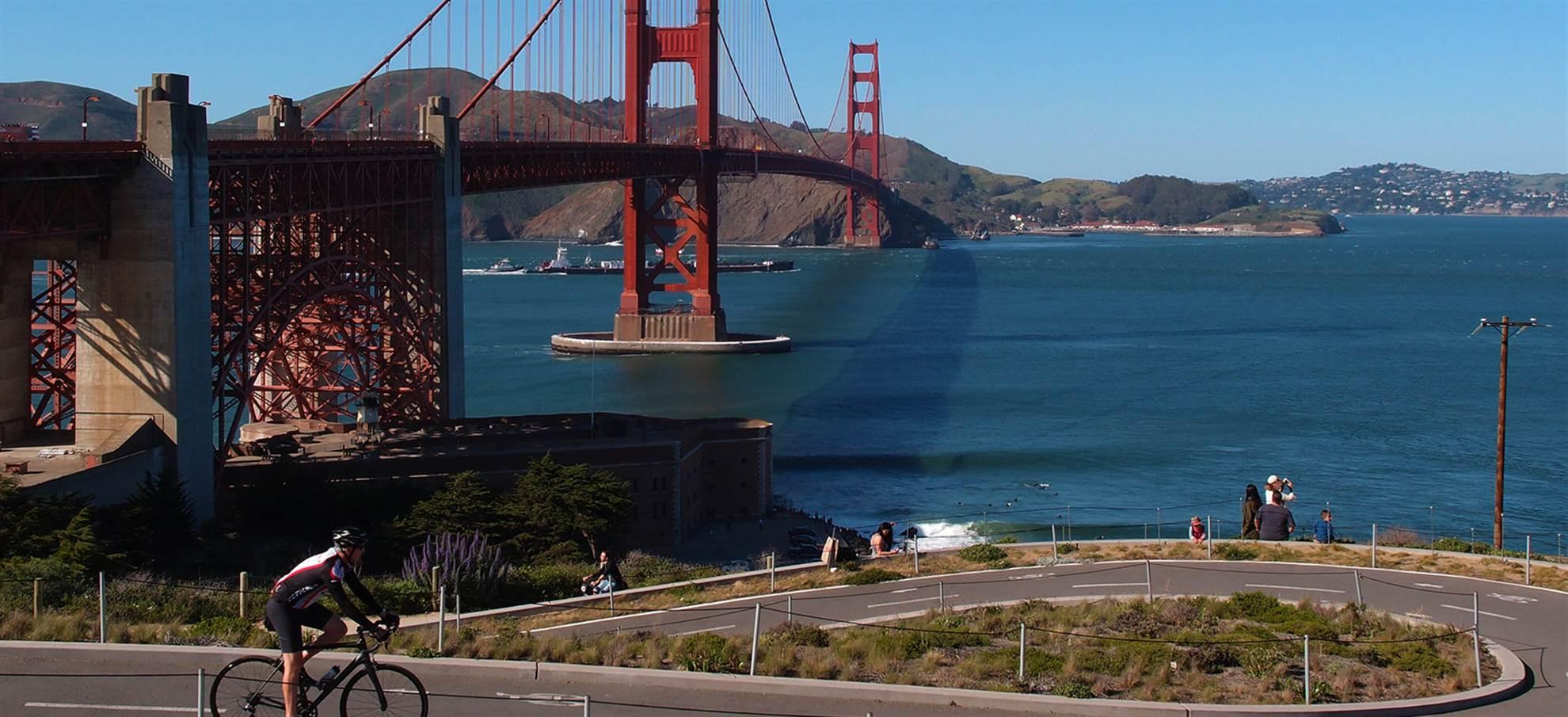 Golden Gate Bike tour