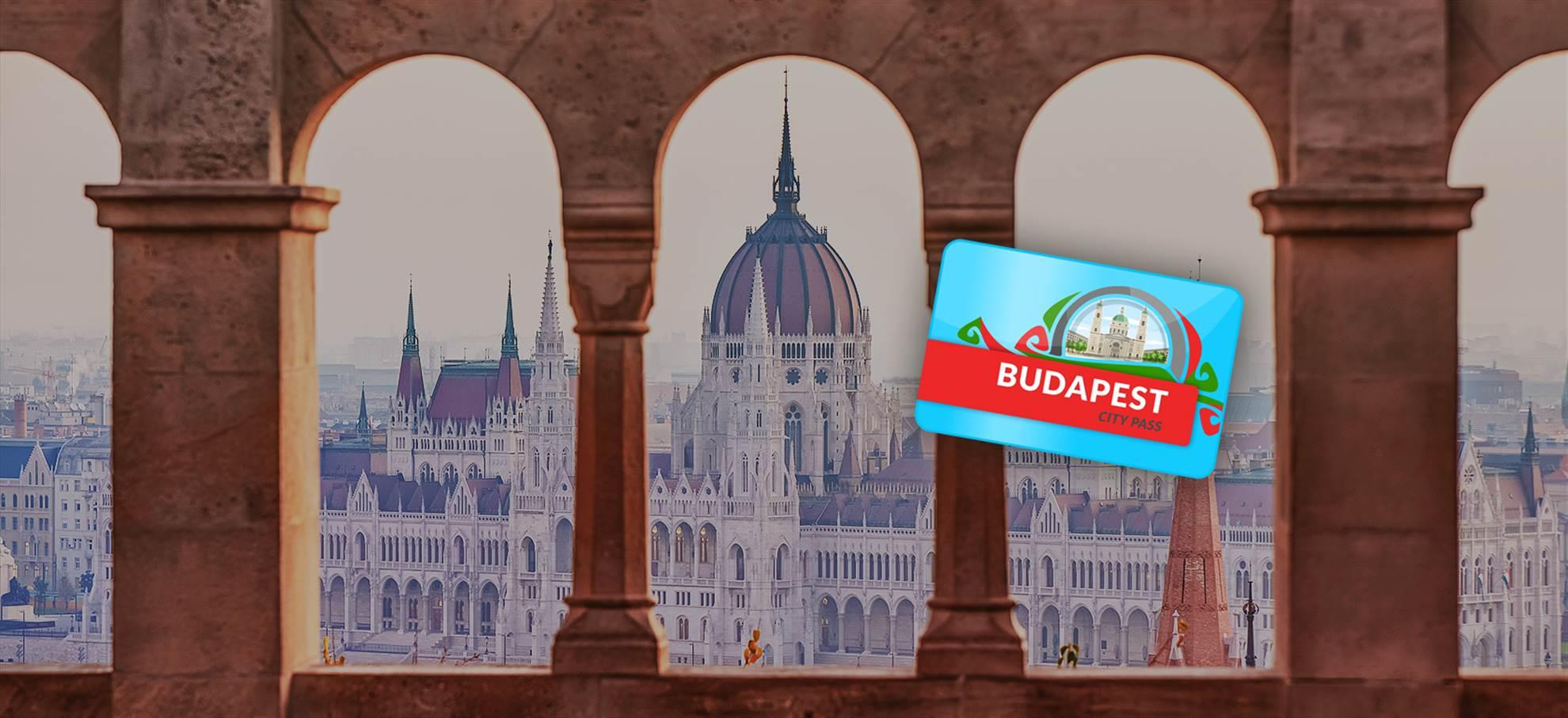 Budapest City Pass (zawiera bilety do Parlamentu)