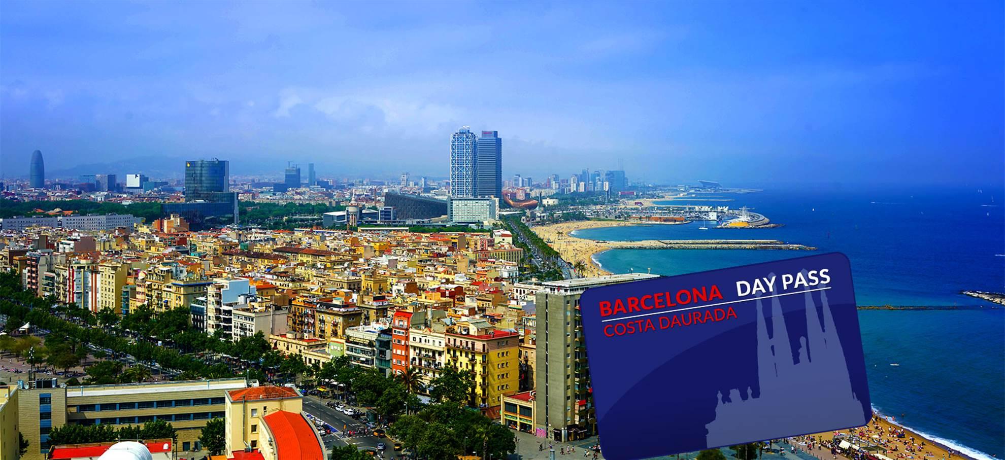 Costa Daurada - Barcelona – Karta Day Pass