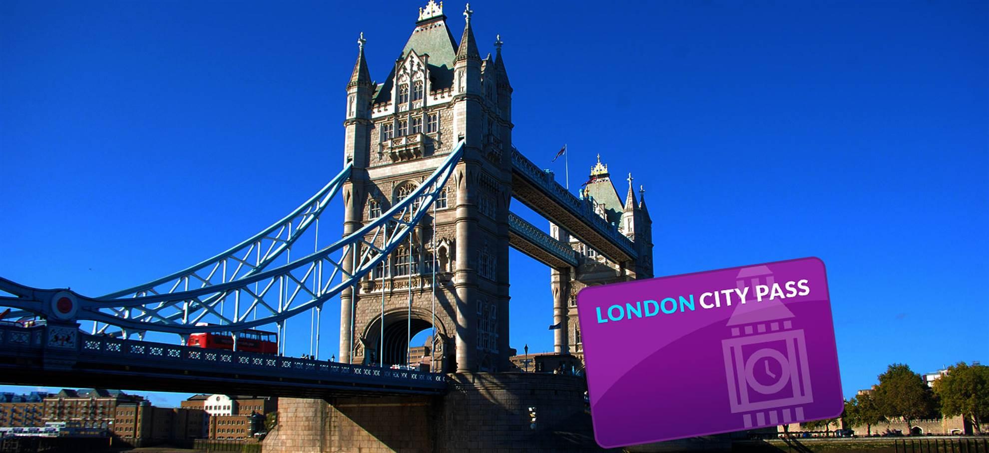 Лондон City Pass (+ колесо обозрения London Eye)