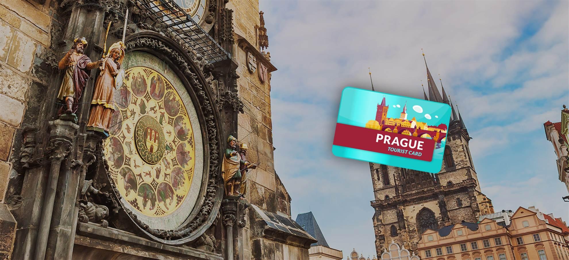 Praag Tourist Card (inclusief Kasteel van Praag)