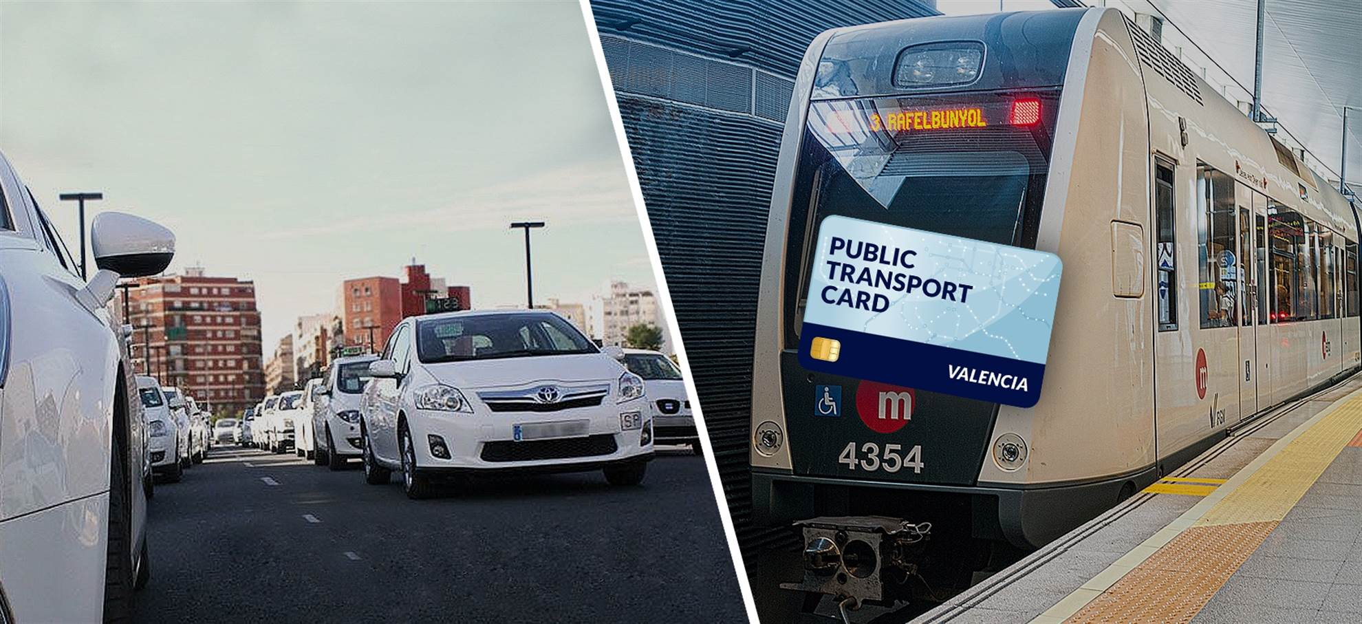 Valencia Public Transportation Card (including Private Airport Taxi)
