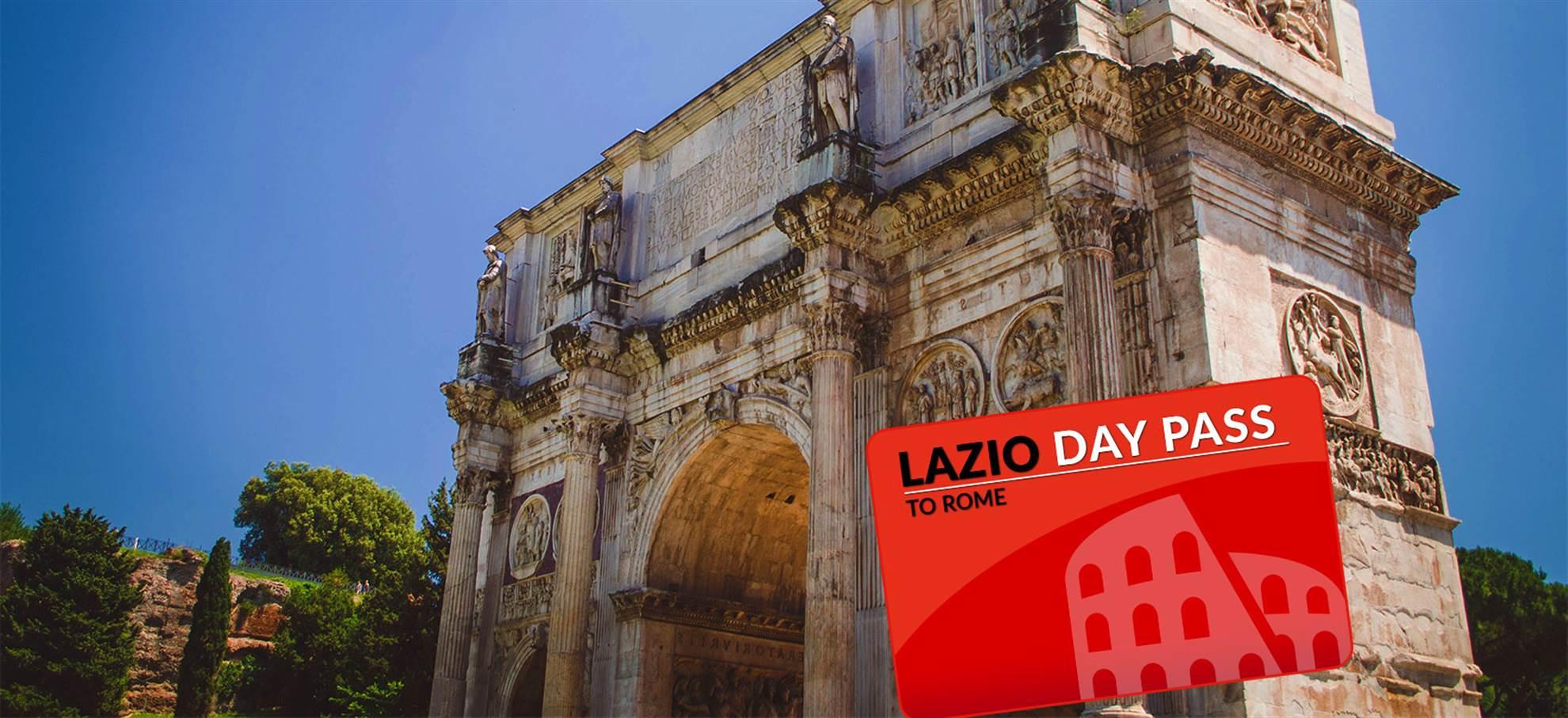 Lazio naar Rome Dagpas