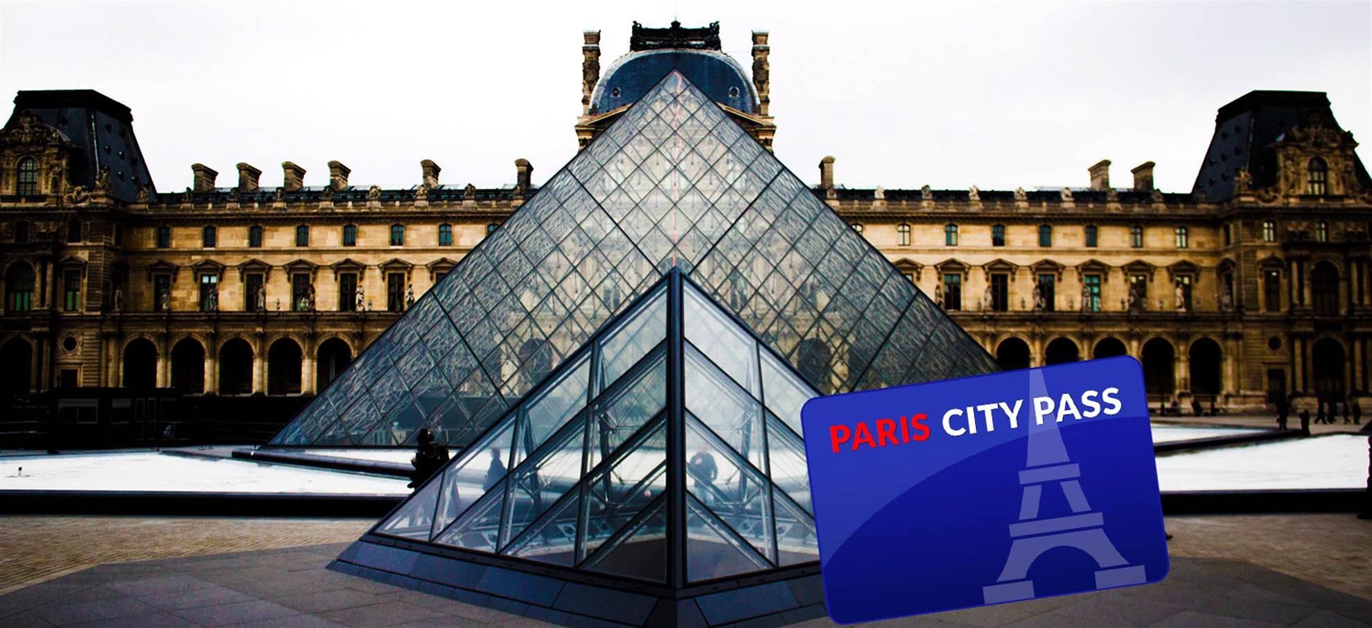 Parijs City Pass (inclusief metro)