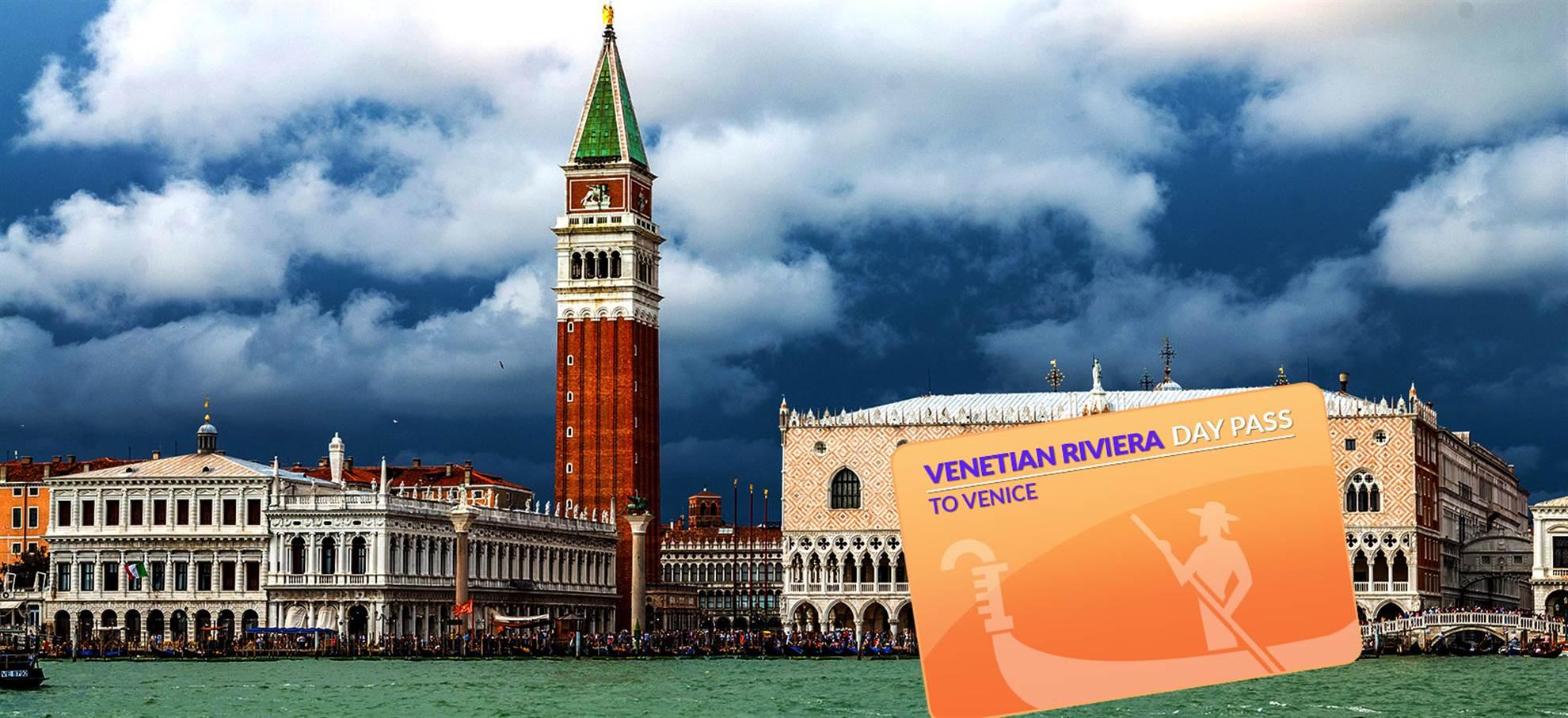 Venezianische-Riviera-Tageskarte nach Venedig
