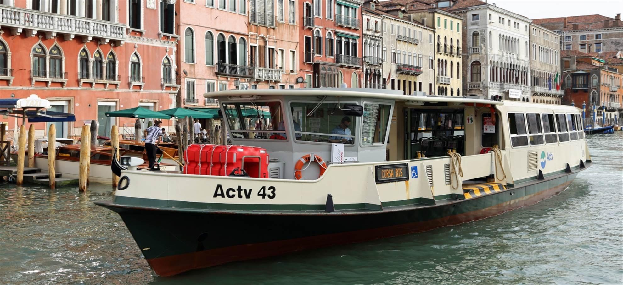 Boat Transportation Venice ACTV Water