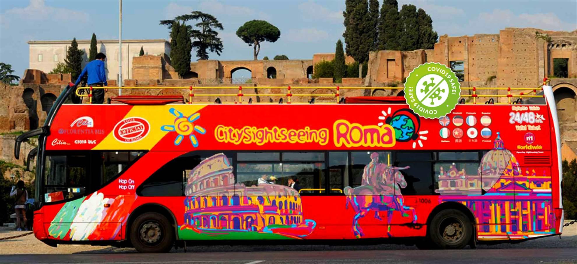 Rome Hop on Hop off Bus