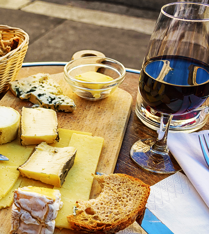 Golden Age Cheese & Wine Tasting