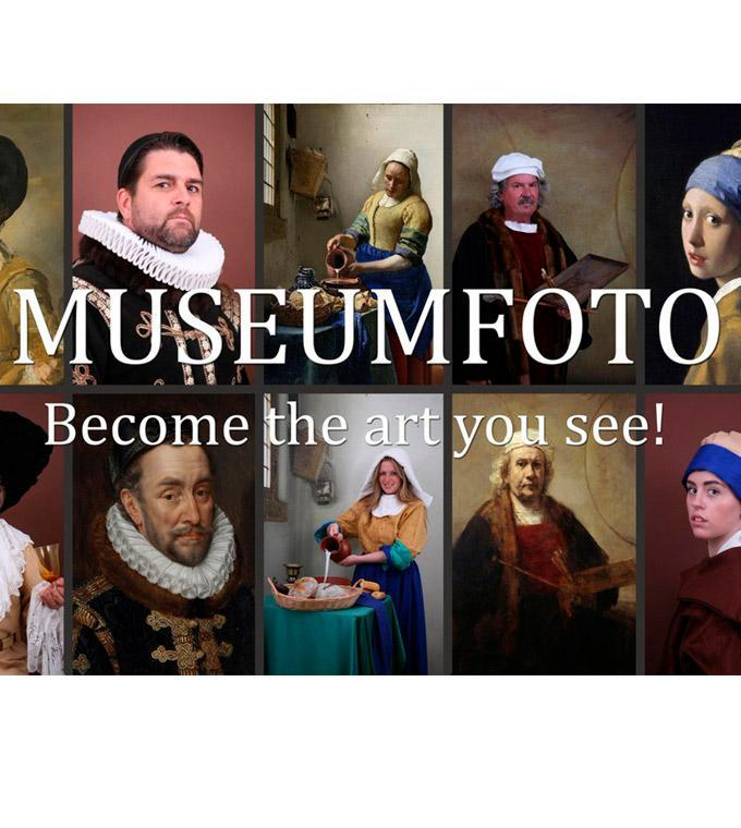 Museumfoto - Become the art you see!