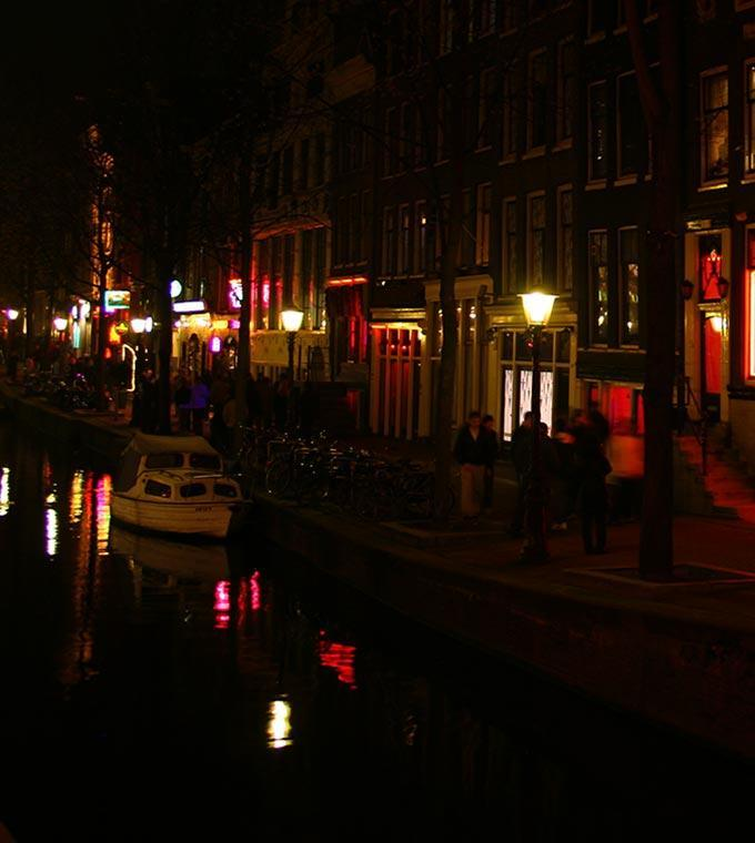 Evening Red Light District Canal Cruise