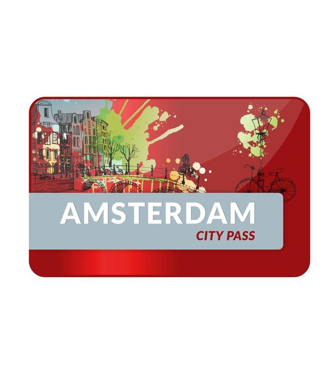 Pass Ville officiel  d'Amsterdam