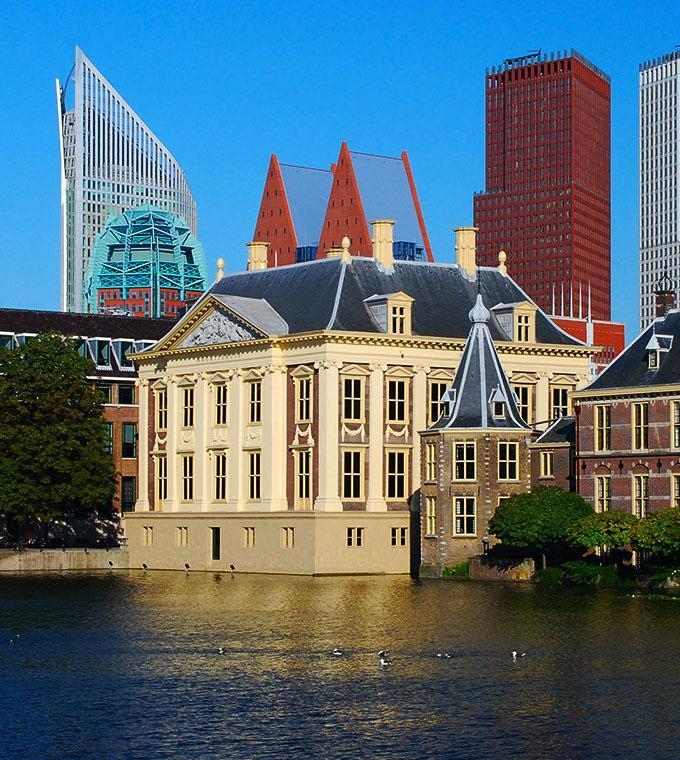 Full Day Trip to Kinderdijk & The Hague incl. Mauritshuis (Small Group Tour)