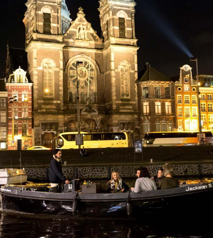 Amsterdam Light Festival (kleine Privatboote)
