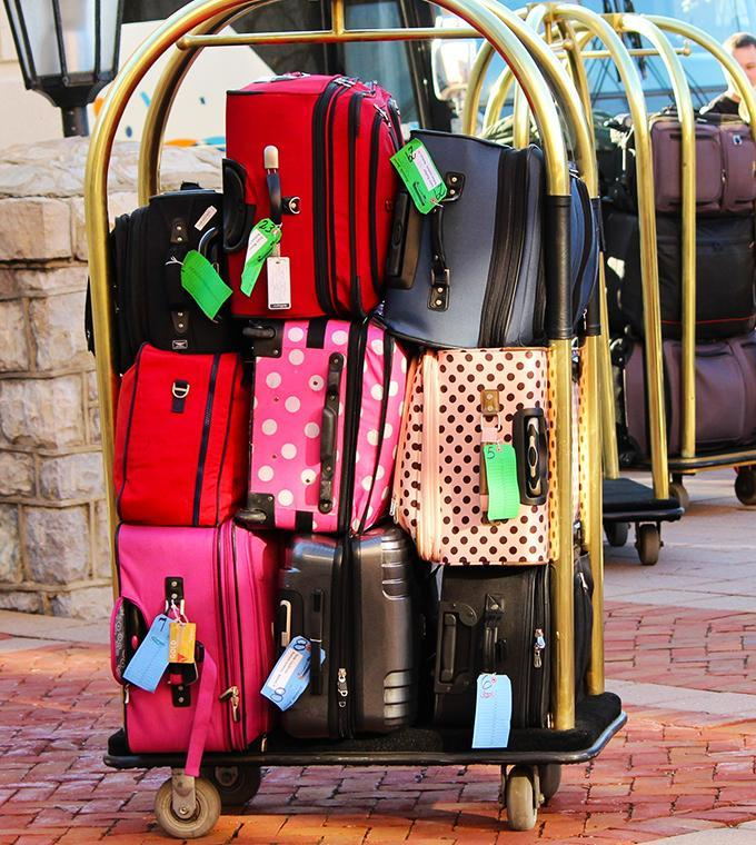 Deluxe Luggage Service (drop-off at the airport)