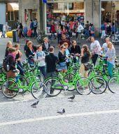Giro in bici - la mattina (guida italiana)