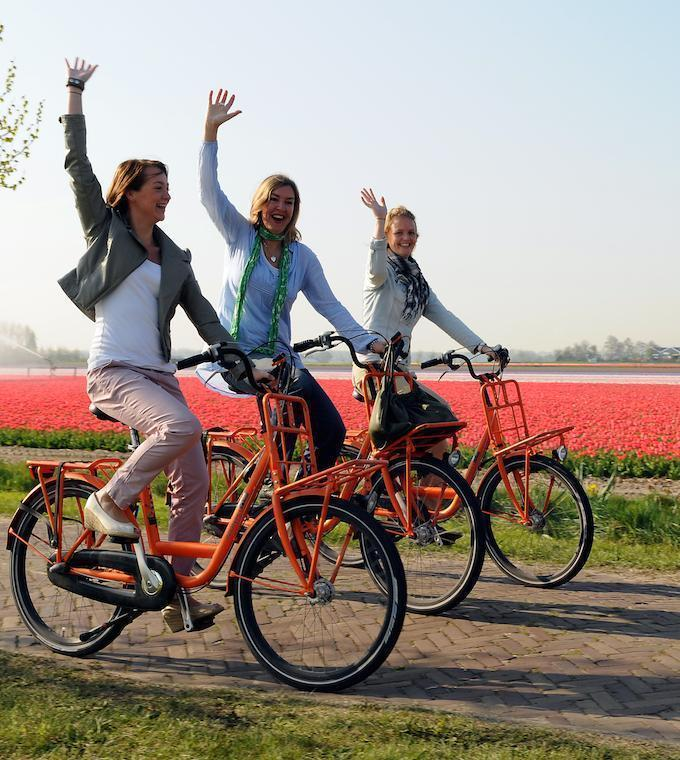 Tour guidato in bici di Keukenhof (in italiano)