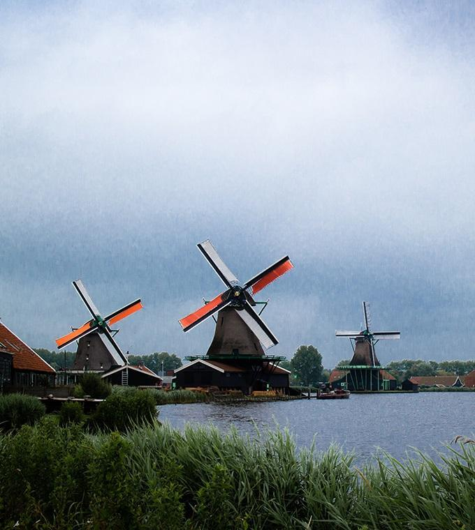 Zaanse Schans - Half Day Trip (English Guide)