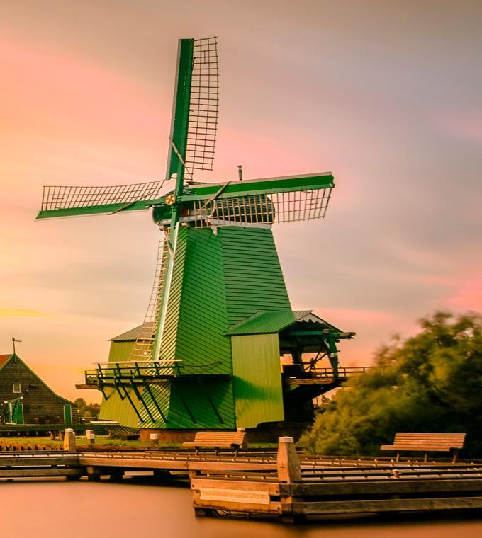 Zaanse Schans - Windmill Village