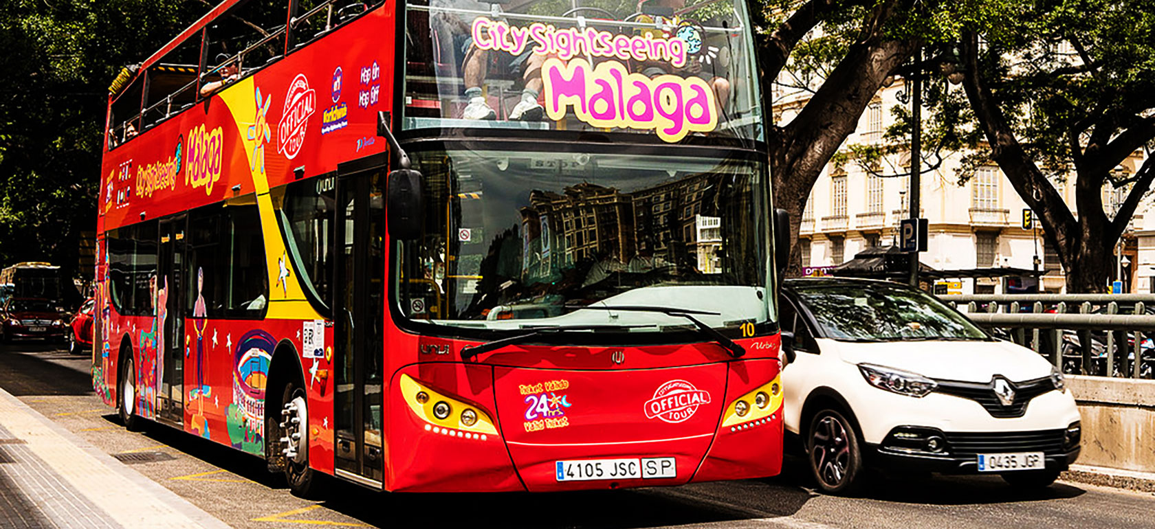 Malaga Hop on Hop off Bus