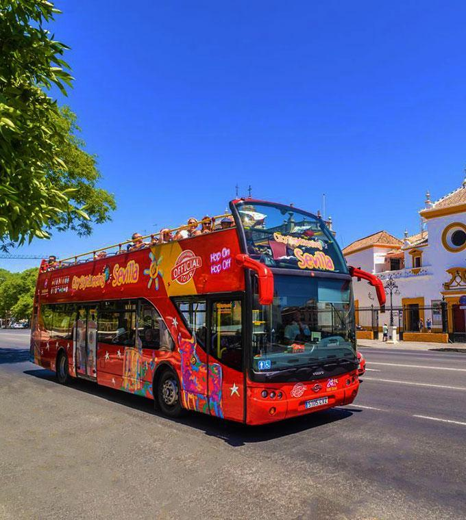Siviglia Hop On Hop Off Bus con Audioguida Italiana